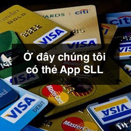 Bán thẻ app SLL